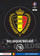 ROAD TO EURO 2016 LOGO BELGIA #4