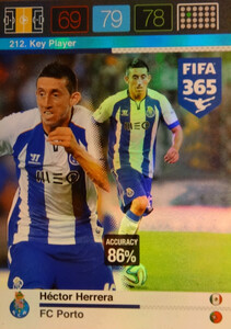 2016 FIFA 365 KEY PLAYER Héctor Herrera #212