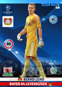 2014/15 CHAMPIONS LEAGUE® TEAM MATE Bernd Leno #82
