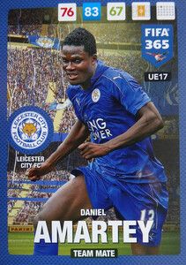 UPDATE 2017 FIFA 365 TEAM MATE Daniel Amartey #17