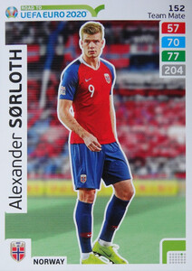 ROAD TO EURO 2020 TEAM MATE Alexander Sörloth 152