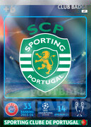 2014/15 CHAMPIONS LEAGUE® LOGO Sporting Clube de Portugal #27