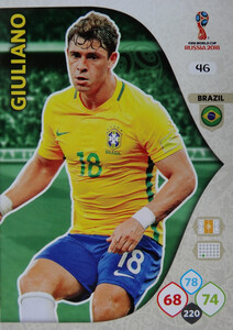 WORLD CUP RUSSIA 2018 BRAZYLIA TEAM GIULIANO 46