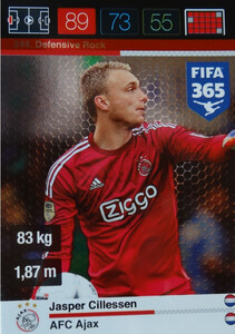 2016 FIFA 365 DEFENSIVE ROCK Jasper Cillessen #244
