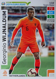ROAD TO EURO 2020 TEAM MATE Georginio Wijnaldum 132