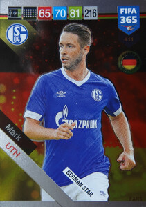 2019 FIFA 365 GERMAN STAR Mark Uth #411