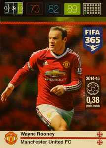 2016 FIFA 365 GOAL MACHINE 	Wayne Rooney