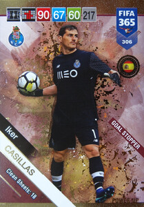 2019 FIFA 365 GOAL STOPPER CASILLAS 306