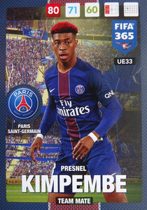 UPDATE 2017 FIFA 365 TEAM MATE 	Presnel Kimpembe #33