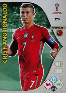 WORLD CUP RUSSIA 2018 TEAM MATE PORTUGALIA RONALDO 279