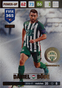 UPDATE 2017 FIFA 365 WINTER STAR DANIEL DODE #127