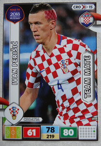 ROAD TO RUSSIA 2018 TEAM MATE CHORWACJA PERISIC 15