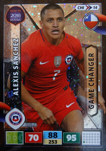 ROAD TO RUSSIA 2018 GAME CHANGER CHILE SANCHEZ 14