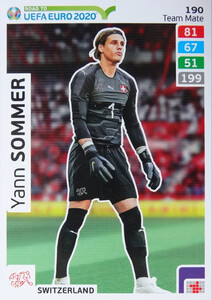 ROAD TO EURO 2020 TEAM MATE  Yann Sommer 190