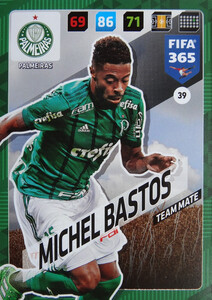 2018 FIFA 365 TEAM MATE Michel Bastos #40