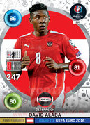 ROAD TO EURO 2016 FANS FAVOURITE David Alaba #297