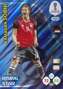 WORLD CUP RUSSIA 2018 RISING STAR SOBHI 420
