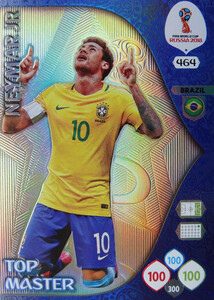 WORLD CUP RUSSIA 2018 TOP MASTER NEYMAR 464