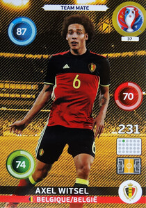 EURO 2016 TEAM MATE Axel Witsel #37