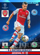 2014/15 CHAMPIONS LEAGUE® TEAM MATE Mathieu Debuchy #48