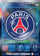 2014/15 CHAMPIONS LEAGUE® LOGO Paris Saint-Germain #22