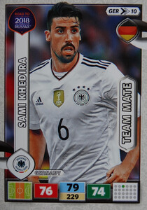 ROAD TO RUSSIA 2018 TEAM MATE NIEMCY KHEDIRA 10