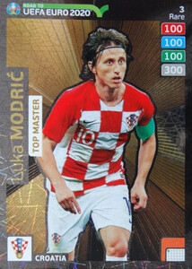 ROAD TO EURO 2020 RARE TOP MASTER MODRIC 3