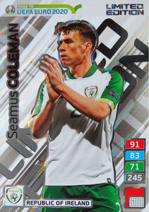 ROAD TO EURO 2020 LIMITED Seamus Coleman