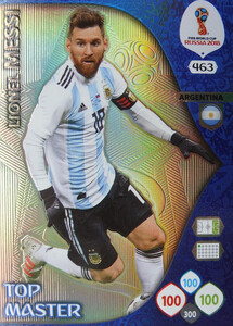 WORLD CUP RUSSIA 2018  TOP MASTER MESSI 463