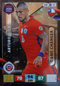 ROAD TO RUSSIA 2018 GAME CHANGER CHILE VIDAL 13