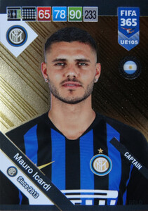 2019 FIFA 365 UPDATE CAPTAINS Mauro Icardi #105