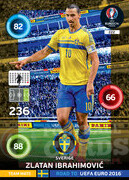 ROAD TO EURO 2016 TEAM MATE Zlatan Ibrahimović #222