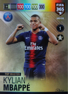 2019 FIFA 365 UPDATE TOP MASTER  Kylian Mbappé #132