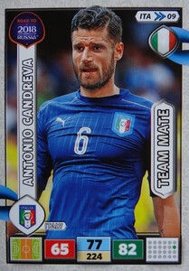ROAD TO RUSSIA 2018 TEAM MATE WŁOCHY  CANDREVA 09