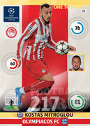 2014/15 CHAMPIONS LEAGUE® ONE TO WATCH   Kostas Mitroglou #196