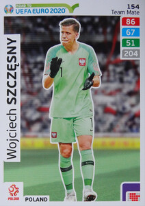ROAD TO EURO 2020 TEAM MATE  Wojciech Szczęsny 154