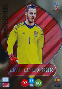 WORLD CUP RUSSIA 2018 LIMITED HISZPANIA David de Gea