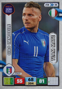 ROAD TO RUSSIA 2018 TEAM MATE WŁOCHY IMMOBILE 18