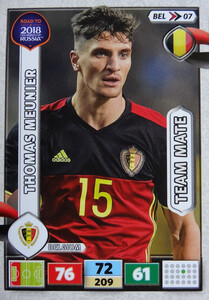 ROAD TO RUSSIA 2018 TEAM MATE BELGIA  MEUNIER 07
