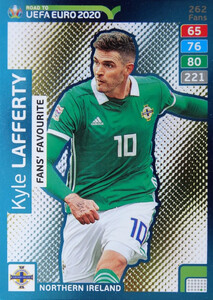 ROAD TO EURO 2020 FANS FAVOURITE Kyle Lafferty #262