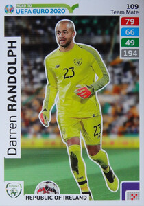 ROAD TO EURO 2020 TEAM MATE Darren Randolph 109