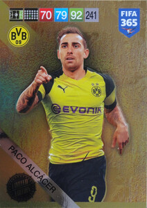 2019 FIFA 365 UPDATE LIMITED EDITION PACO ALCACER