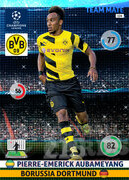 2014/15 CHAMPIONS LEAGUE® TEAM MATE Pierre-Emerick Aubameyang #114