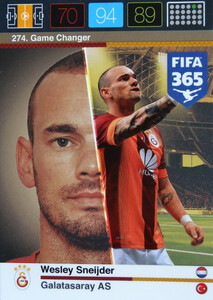 2016 FIFA 365 GAME CHANGER Wesley Sneijder #274
