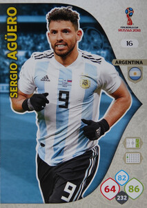 WORLD CUP RUSSIA 2018 ARGENTYNA TEAM AGUERO 16