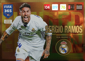 UPDATE 2017 FIFA 365 LIMITED SERGIO RAMOS