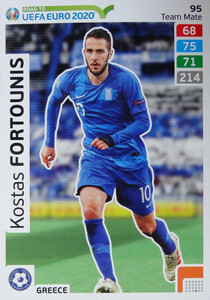ROAD TO EURO 2020 TEAM MATE Kostas Fortounis 95