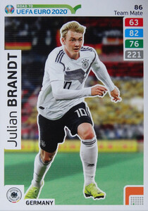 ROAD TO EURO 2020 TEAM MATE Julian Brandt 86