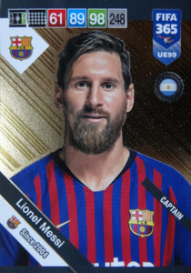 2019 FIFA 365 UPDATE CAPTAINS Lionel Messi #99