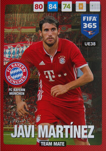 UPDATE 2017 FIFA 365 TEAM MATE JAVI MARTINEZ #38